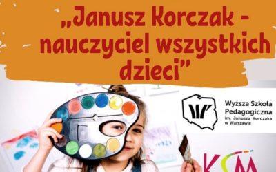 """Konkurs Plastyczny dla dzieci pt.: """"Janusz Korczak – nauczyciel wszystkich dzieci"""""""