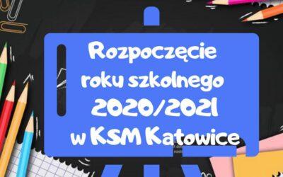 Rozpoczęcie roku szkolnego 2020/21 wKSM Katowice